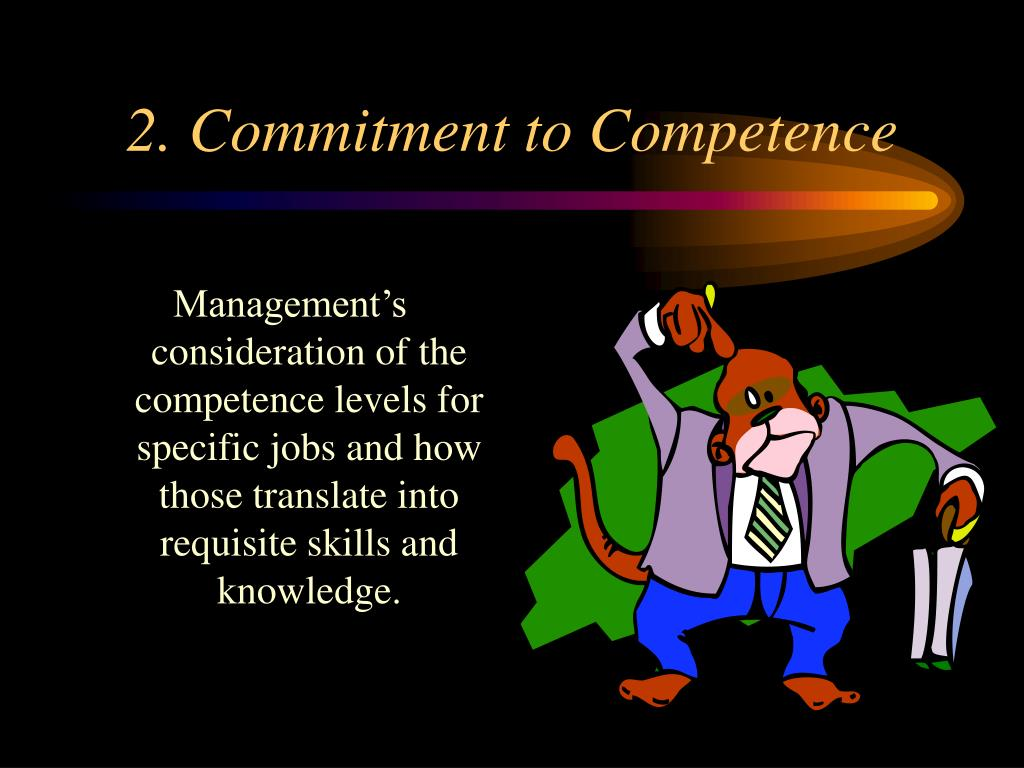 2. Commitment to Competence