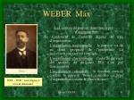 weber max