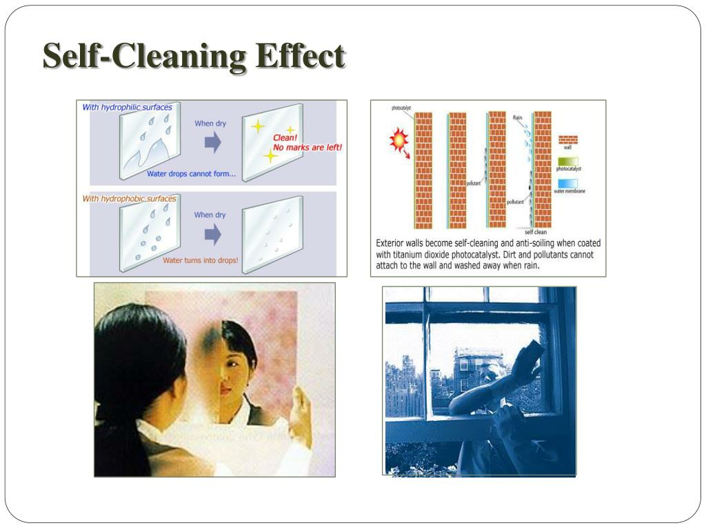 Self-Cleaning Effect