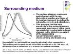 surrounding medium