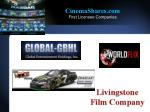 cinemashares com first licensee companies