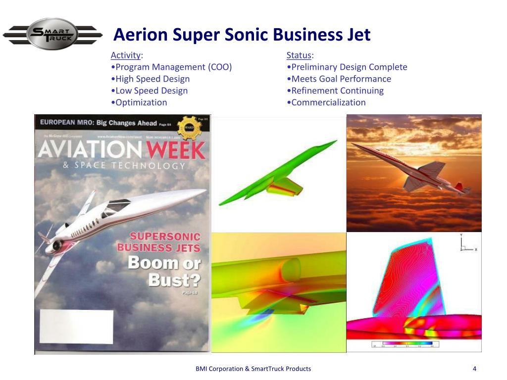 Aerion Super Sonic Business Jet