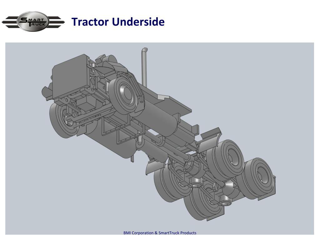 Tractor Underside