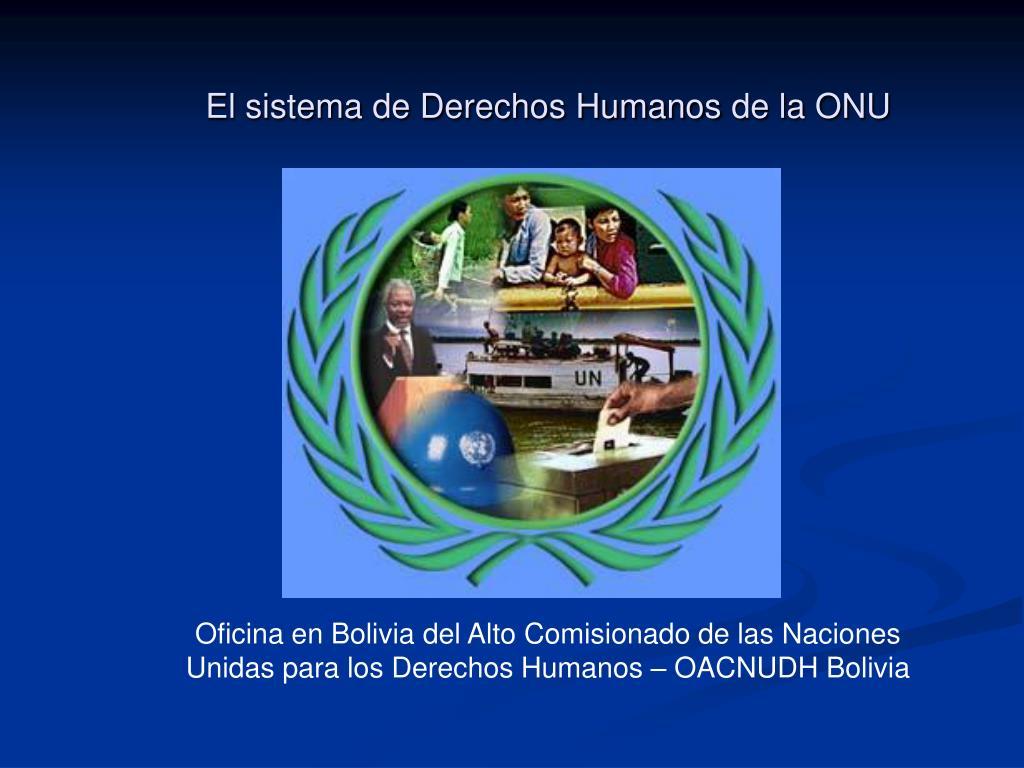 el sistema de derechos humanos de la onu l.