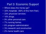 part 3 economic support17