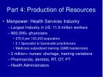 part 4 production of resources18
