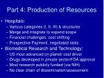 part 4 production of resources19