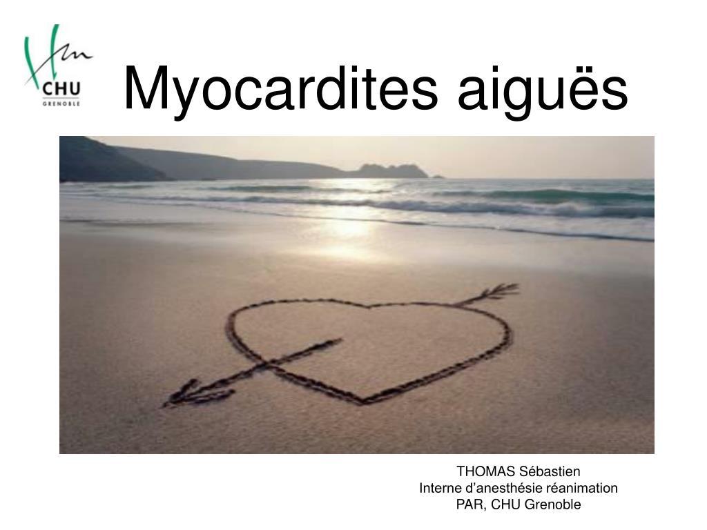myocardites aigu s l.