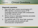 clinical questions13