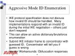 aggressive mode id enumeration