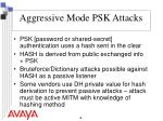 aggressive mode psk attacks