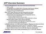 gfp overview summary