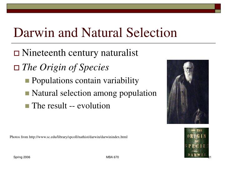darwin and natural selection 1 cambridge companion to the origin of species, eds r richards and m ruse darwin's theory of natural selection and its moral purpose robert j richards.
