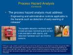 process hazard analysis continued22