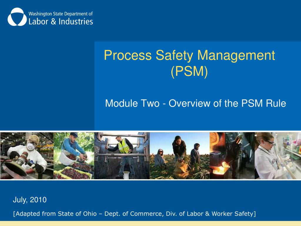 process safety management psm l.