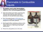 flammable combustible liquids13