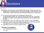 sensitizers