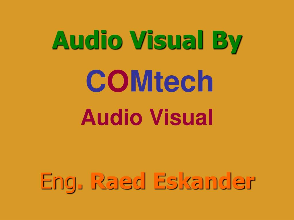 Audio Visual By