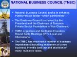 national business council tnbc