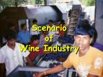 scenario of wine industry