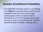 example conditional probability
