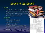 chat y m chat