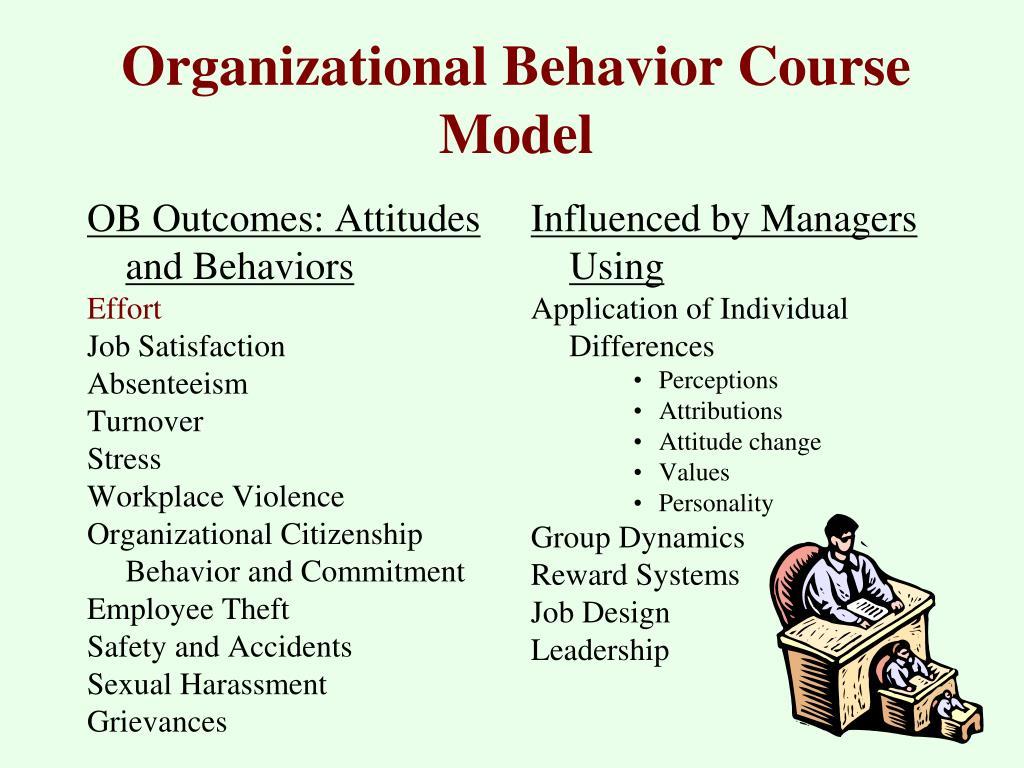 organizational behavior course model l.