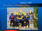 first day of school 2004