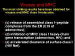 viruses and mhc35