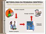 metodologia da pesquisa cient fica qual o esquema geral de uma monografia