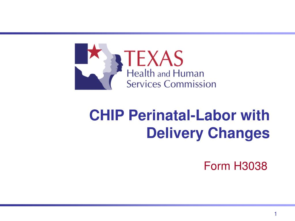 chip perinatal labor with delivery changes l.