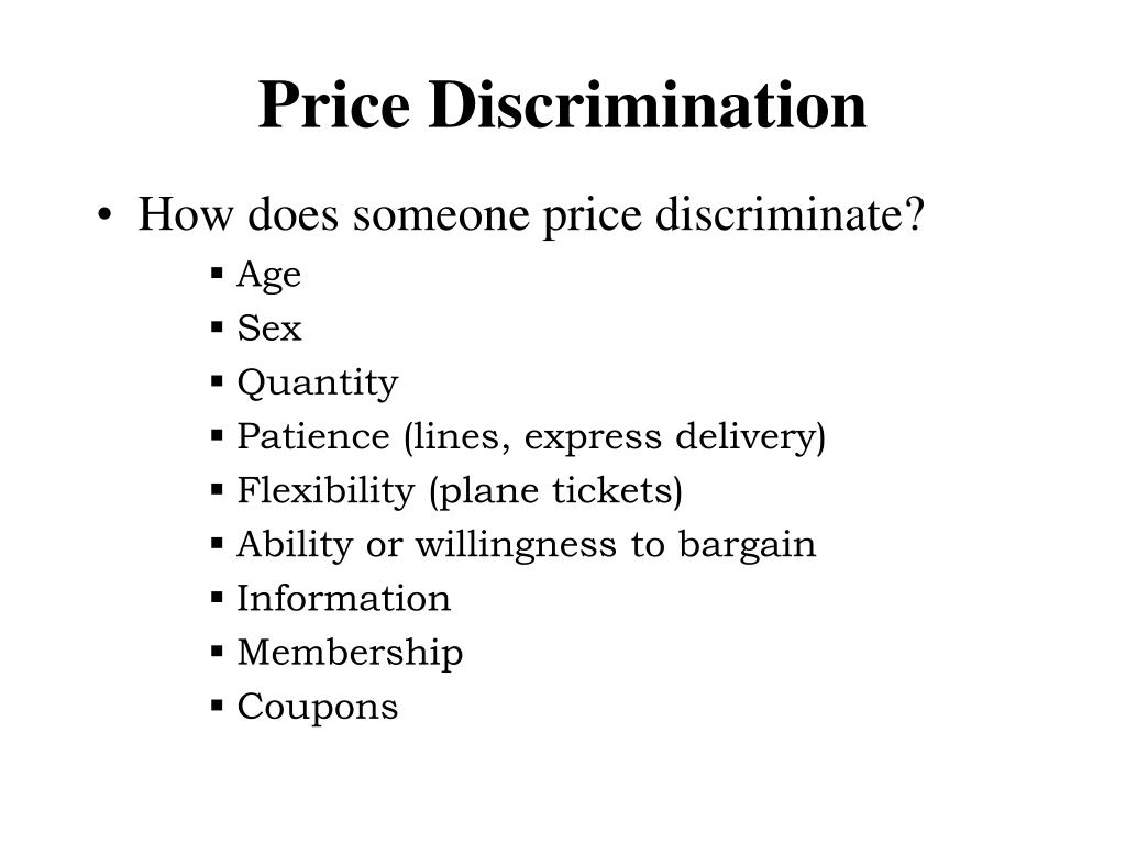 price discrimination l.