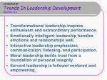 leadership trends in leadership development module 16 2