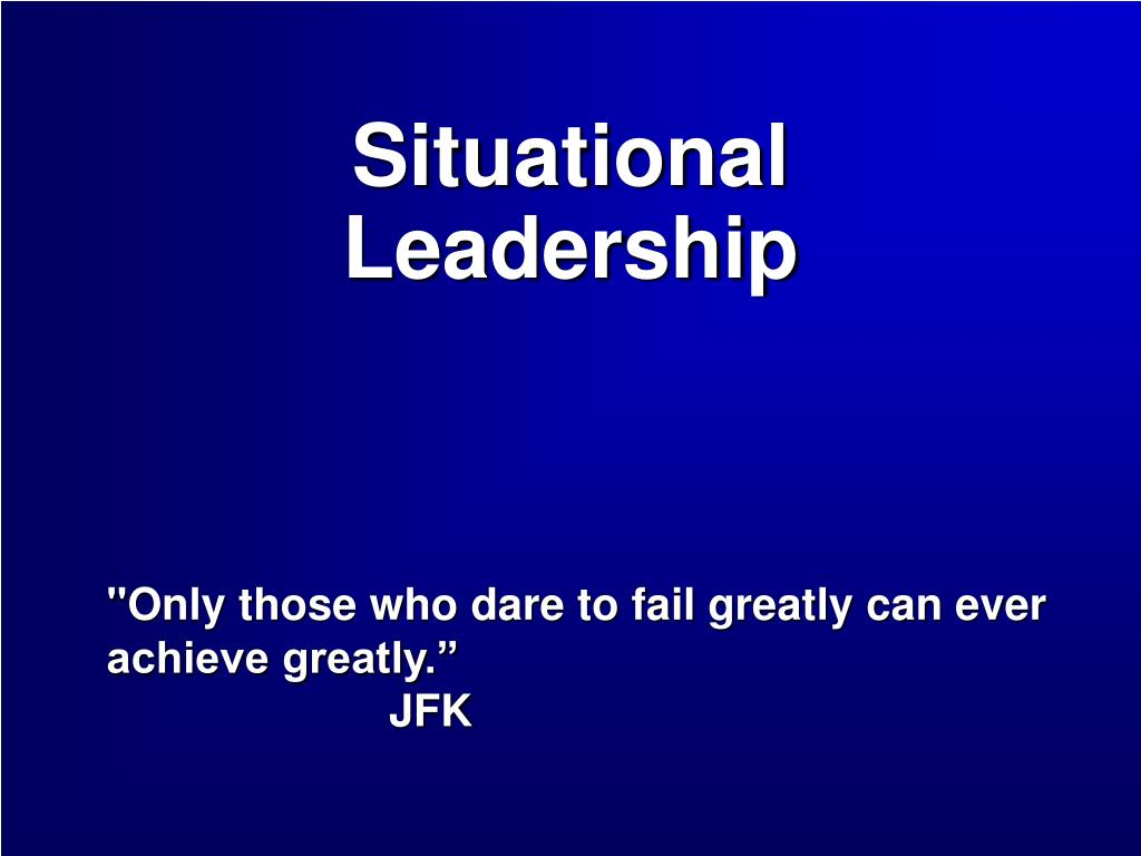 situational leadership l.