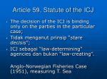 article 59 statute of the icj