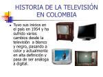 historia de la televisi n en colombia