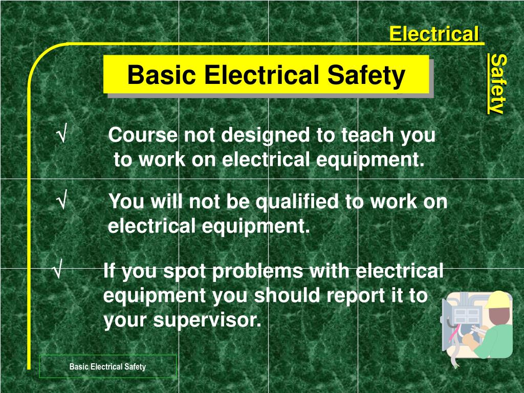 basic electrical safety l.