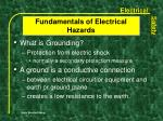 fundamentals of electrical hazards18