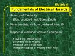 fundamentals of electrical hazards7