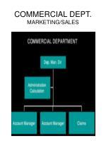 commercial dept marketing sales