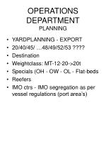 operations department planning93