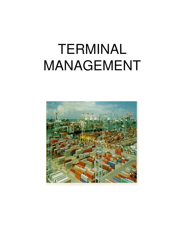 terminal management l.