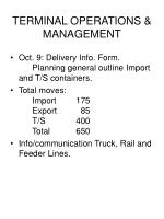 terminal operations management125