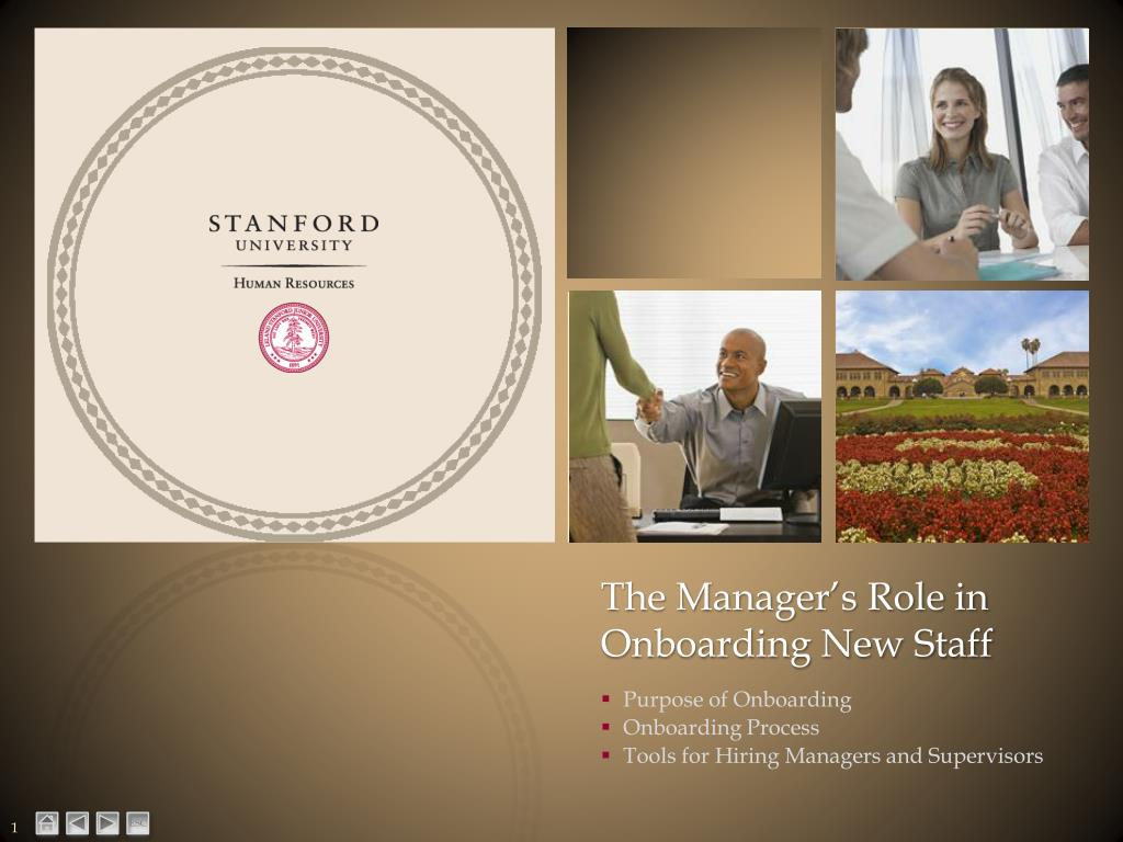the manager s role in onboarding new staff l.