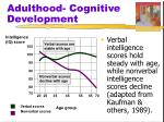 adulthood cognitive development3