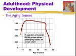 adulthood physical development1
