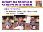 infancy and childhood cognitive development2
