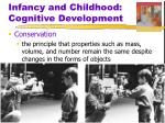 infancy and childhood cognitive development4