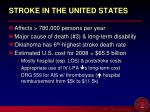stroke in the united states