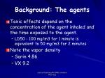 background the agents11